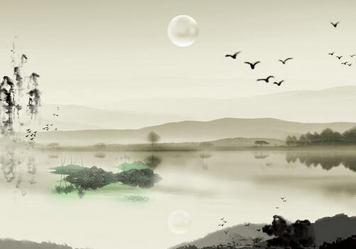 山水画的介绍-山水画的摆放方法
