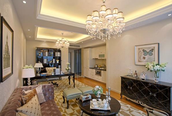 欧式新古典风格室内装修效果图片
