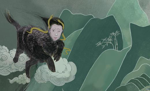 中国最早的神话小说 《山海经》先秦时期