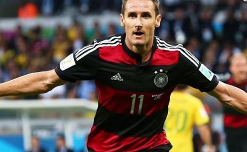 世界杯进球最多的球员 克洛泽16球世界杯最佳