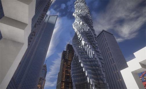 世界最高的住宅大厦 芝加哥螺旋塔高约610米