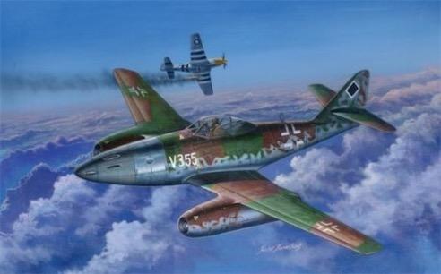 世界最早的喷气式战斗机 1942年德国研制成功ME262型战斗机