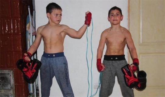 世界上最强壮的男孩 朱利亚诺・斯特勒一身肌肉