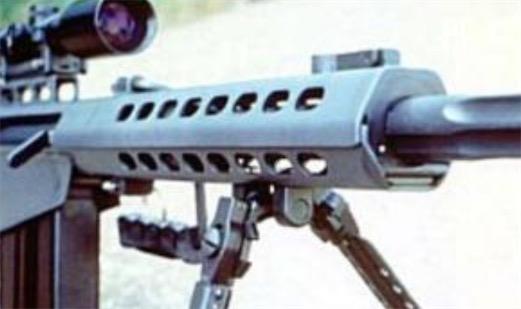 世界上射程最远的狙击枪 巴雷特M82A1射程可以达到1500米