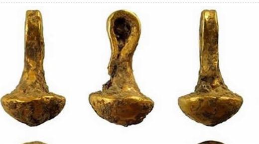 世界上最古老的24K纯金吊坠 生产于6600年前的保加利亚