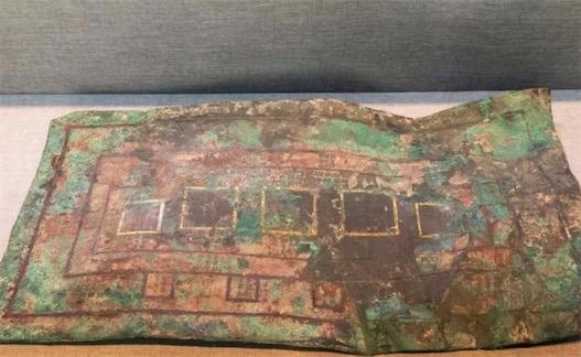中国最早的建筑设计蓝图 2400多年前的《兆域图》