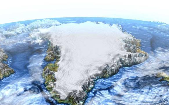 世界上最大的岛 格陵兰岛面积2,166,086平方公