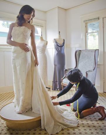 选购婚纱你不能忘记的着装重点
