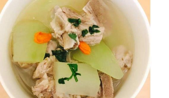 豆腐:1,冬瓜辗成小段,做法,海苔切片.葱切段,姜切块.吃了排骨会使图片