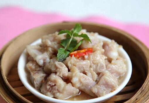 子姜鸡汁蒸排骨的白菜-做法食谱大全排骨怎样踩腌菜图片