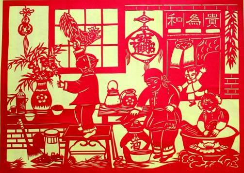还记得小时候过年过节贴的窗花吗?还有上学时发的小红花,都是中国的剪纸艺术,现存最早的剪纸作品则在新疆吐鲁番阿斯塔那古墓发现,为六世纪时期作品。剪纸艺术于唐代及宋代盛行,后于十六世纪传入土耳其,并在十八及十九世纪传入西亚。 8、围棋