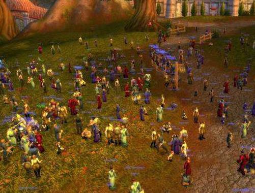 电脑大型网络游戏排行,魔兽世界怀旧服、LOL依旧很多人