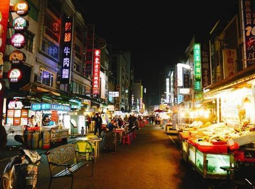 台湾十大旅游景点排名,高雄六合夜市、台湾高雄爱河很好玩