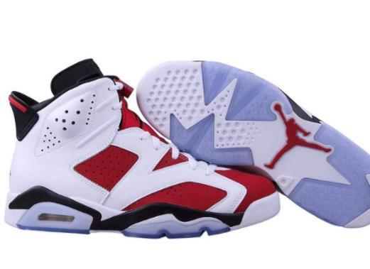 aj十大最火的篮球鞋排名,Air Jordan 6设计感很强