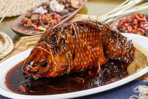 天津十大名菜排名,罾蹦鲤鱼味道鲜美,锅塌里脊清口鲜嫩