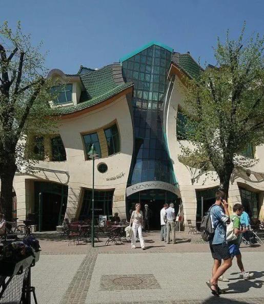 地球上最奇葩的建筑排名,波兰哈哈屋、荷兰立方体房屋很独特