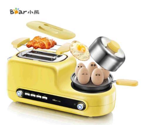 十大烤面包机品牌排名,小熊烤面包机有个性,飞利浦享誉全球