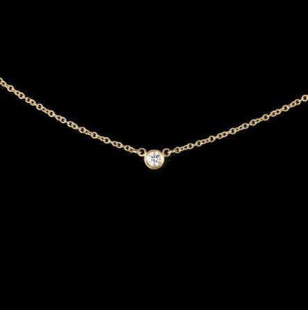 十大好看的锁骨链品牌,蒂芙尼锁骨链、宝格丽锁骨链修饰锁骨