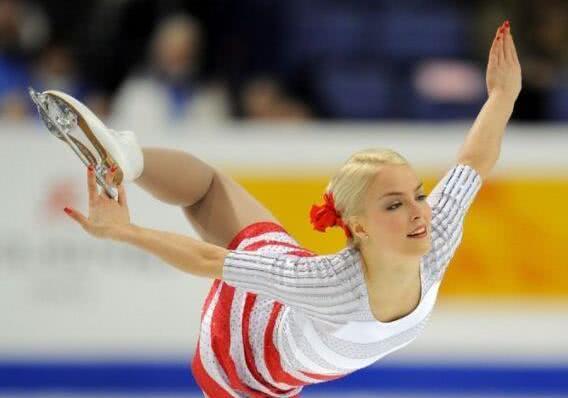 世界六大最美花样滑冰女运动员 基拉·科尔皮是最漂亮的冰上公主