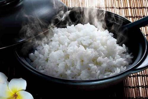 煮大米步骤简笔图