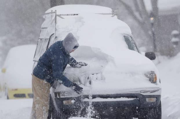 车上积雪不管的话会化掉吗?车上的积雪能让洗车的清洗吗