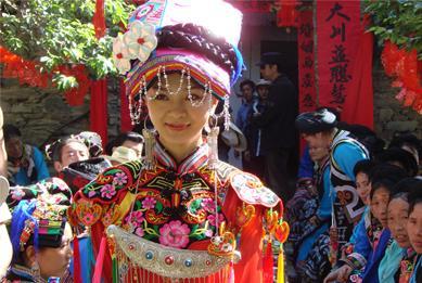羌族电影《尔玛的婚礼》上映 天仙妹妹主演-羌族有什么风俗习惯 中图片