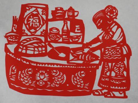 中国传统工艺-传统工艺之过年窗花