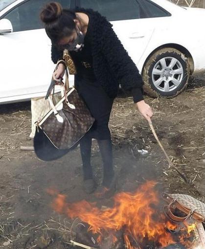 烧包门女主角私密照,卖肉烧包门事件女演员蔡雪敏炒作