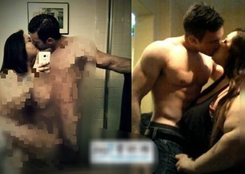 210公斤美国励志姐,自拍裸体与帅气男友激吻,胖子也能有真爱