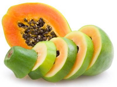 木瓜的功效与作用:木瓜能清心润肺健脾消食