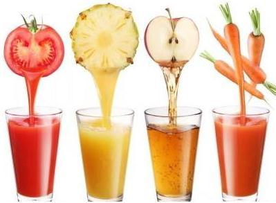 各种果汁的食疗功效与好处
