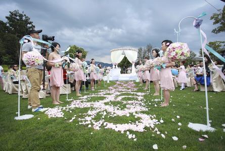 户外婚礼的流程及注意事项