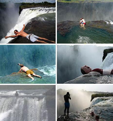 莱索引托的马莱楚尼亚瀑布在冬季结冰,外形怪异的冰柱唯有宁静方
