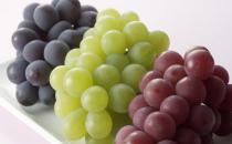 不同颜色的葡萄都有什么功效?