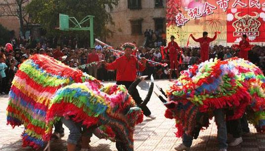 各地春节习俗——广西