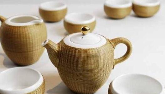 四川特有的传统手工艺,竹丝扣瓷