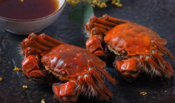 秋季吃螃蟹的好处有哪些图片