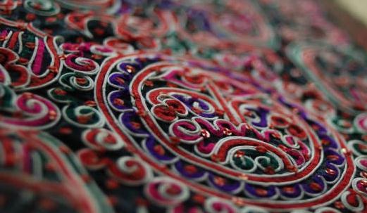 """中国刺绣""""活化石""""——水族马尾绣"""