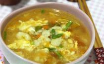 冬季的家常养生汤 番茄南瓜疙瘩汤