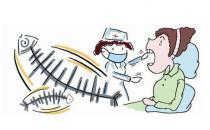鱼刺卡在喉咙的家庭紧急处理法