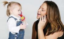 宝宝学说话训练 及时矫正发音不清