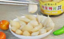 糖醋蒜有什么功效?怎么腌制糖醋蒜?