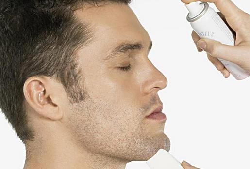 男士应谨慎对待脸部毛孔粗大图片
