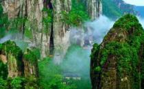 雁荡山风景区的特点