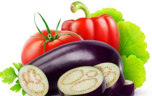 去老年斑多吃茄子和西红柿