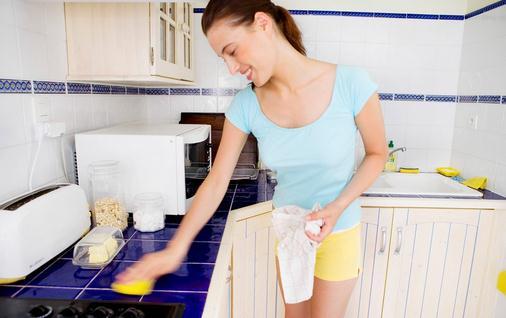 厨房清洁中最容易被忽略的事项