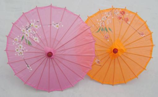 仿丝伞的搭配方法和保养方法