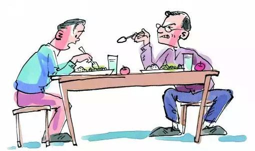 餐桌零食矢量图