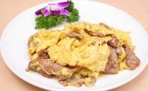 滑蛋炒牛肉的营养食谱