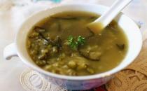 美味海带食谱:绿豆海带汤的做法